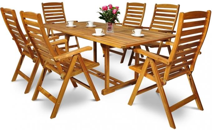 Meble Ogrodowe Drewniane Ak 200sr511k