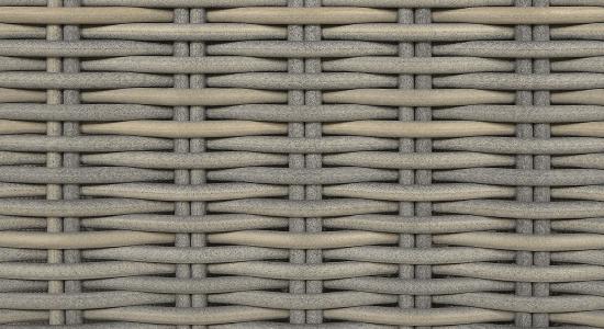 Wysokiej klasy plecionka półokrągła o naturalniej barwie i strukturalnej powierzchni.