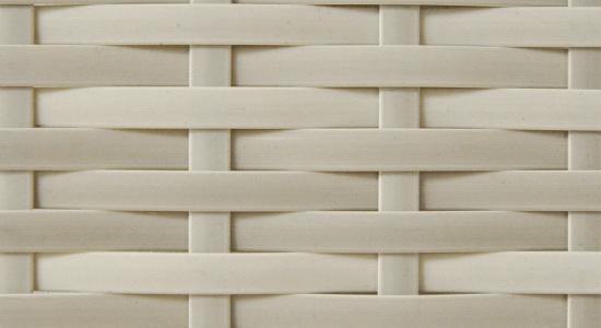Podstawy model płaskiej plecionki – jednobarwna, gładka powierzchnia bez faktury.
